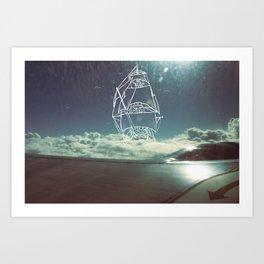 Sail the Skies Art Print