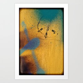 Abstract urban painting Art Print