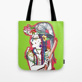 spring witch Tote Bag
