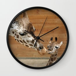 Giraffe 002 Wall Clock