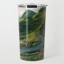 The Quiraing in Isle of Skye, Scotland Travel Mug