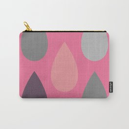 Pink Drops Carry-All Pouch
