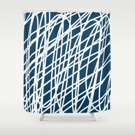 Jumble of thoughts Shower Curtain