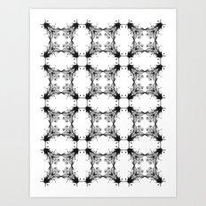 Fly paper Art Print