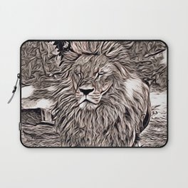 Rustic Style - Lion Laptop Sleeve