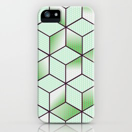 Electric Cubic Knited Effect Design iPhone Case