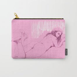 Chica rosada 2 Carry-All Pouch