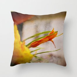 Dawn Lily Throw Pillow