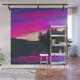 Aesthetic 80s Vibes Wall Mural