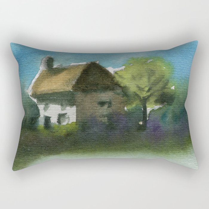 A Place in the Country Rectangular Pillow