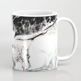 mint black and white marble Coffee Mug