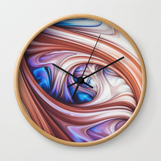 Blueberry Caramel. Abstract Swirl by lovefi