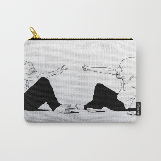 rock beats scissors Carry-All Pouch