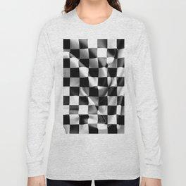 Chequered Flag Long Sleeve T-shirt