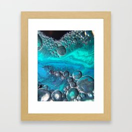 Logarithmic Spiral Framed Art Print