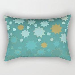 Mermaid 9pt Stars Rectangular Pillow