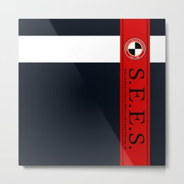 S.E.E.S. (Persona 3) Metal Print