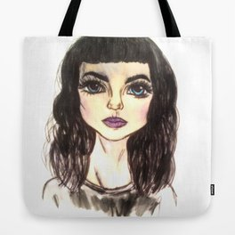Girl 20 Tote Bag