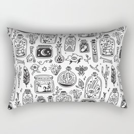 The Tiny Witch Gallery Rectangular Pillow