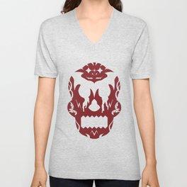 Bloody Sugar Skull Unisex V-Neck