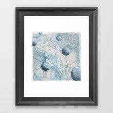 Floating I Framed Art Print
