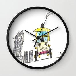 Perky Isabella Wall Clock