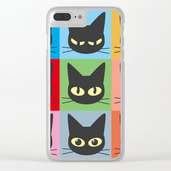 Nine emotions Clear iPhone Case