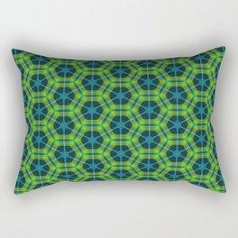 Neon Flux 02 Rectangular Pillow