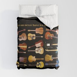 Guitars Galore Comforters