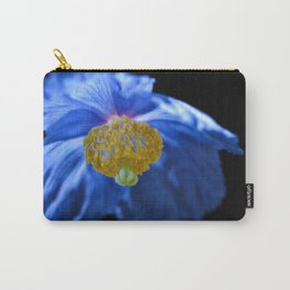 Blue Himalayan Poppy Flower Carry-All Pouch