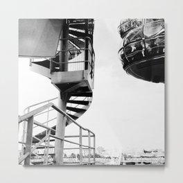 Spaceships Metal Print