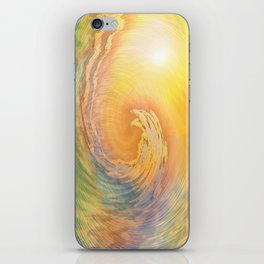 Cosmic Wave iPhone Skin