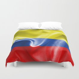 Colombian Flag Duvet Cover