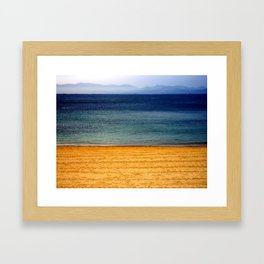 three colors Framed Art Print