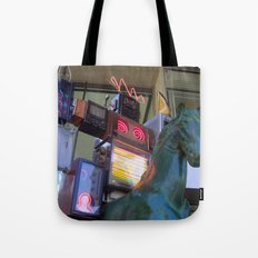 Time Warrior Tote Bag