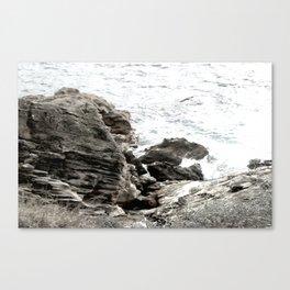 Jurassic Coast Travel Art Canvas Print