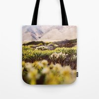 big sur Tote Bags featuring Big Sur by Shannon Lepere