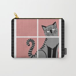 Poppyseedpasta, House of Cats Carry-All Pouch