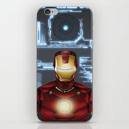 Iron-Man iPhone Skin