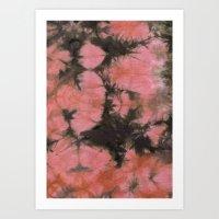 splatter Art Prints featuring Splatter by SarahKdesigns