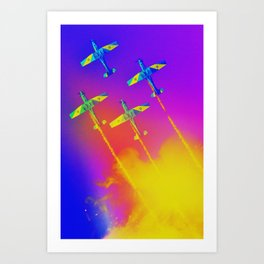The Roulettes Art Print