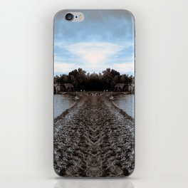 Art Print 1 Lake Superior Mirror 2 [Jordan E. Eismont, Cecilia Lee] iPhone Skin