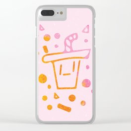 Soda Sippy Clear iPhone Case