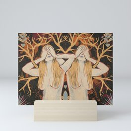 Tree Sisters Mini Art Print