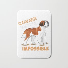 cleanliness is next to impossible (2) Bath Mat