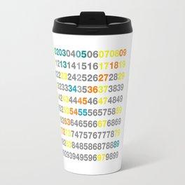Numbers Travel Mug