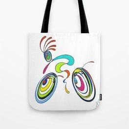 Bicycle - Kokopelli rides again Tote Bag