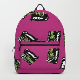 Bride of Frankie Repeat Toss in Lipstick Magenta Backpack