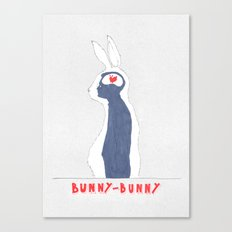 Brain Bunny Canvas Print