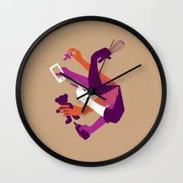 Moms Wall Clock
